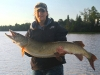 "Jenn 49"". It was Jenn's first figure 8 musky"