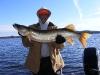 """Dad 43"""" Fall Sucker Fishing"""
